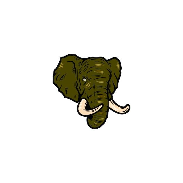 Elephant Premium Vector