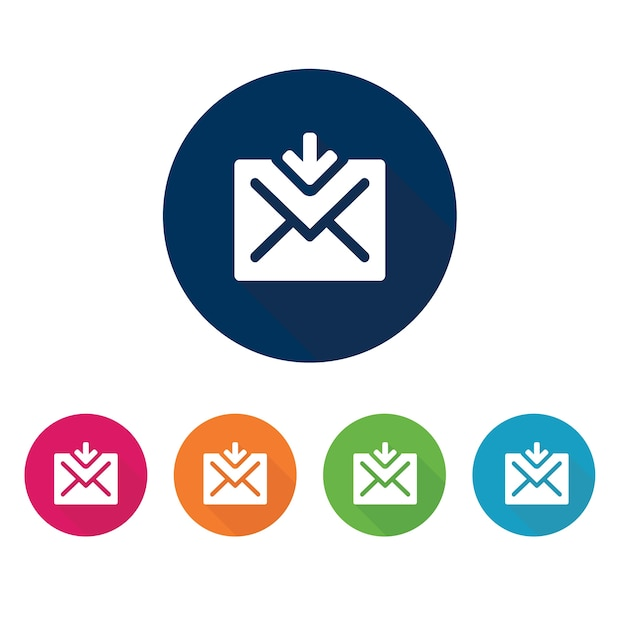 Email Icon Communication Symbol Vector Premium Download