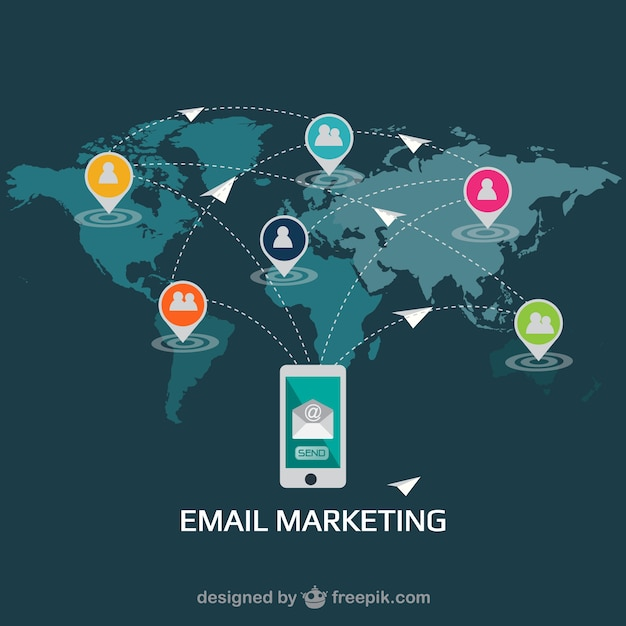 Email Marketing Icons Email Marketing Flat Design