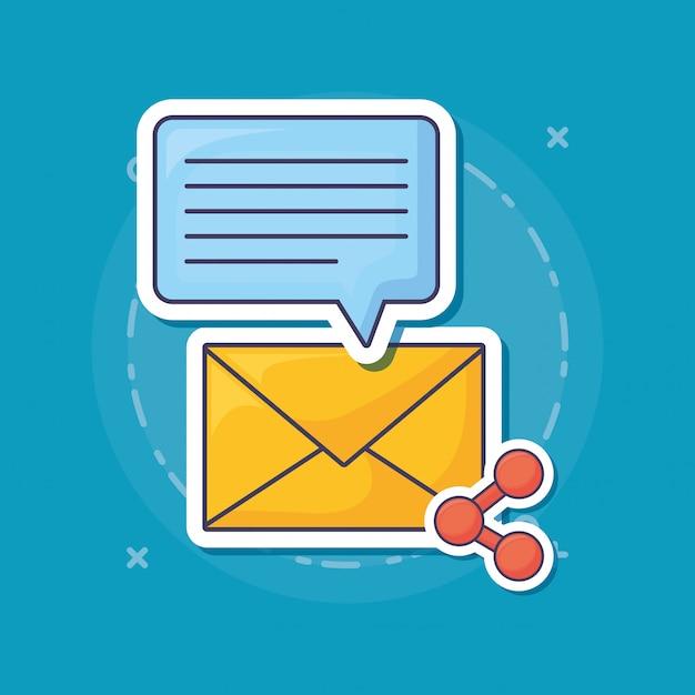 Email marketing Premium Vector