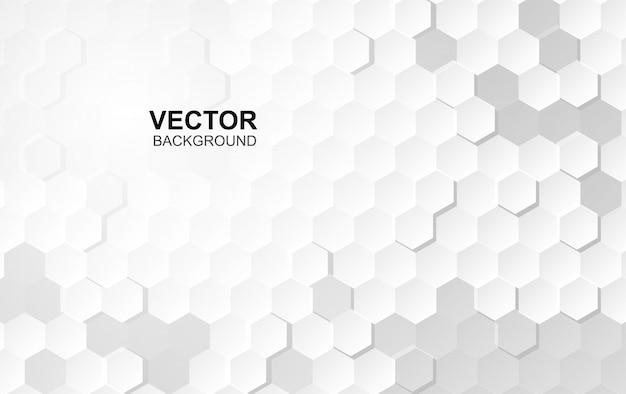 Embossed surface hexagon Premium Vector