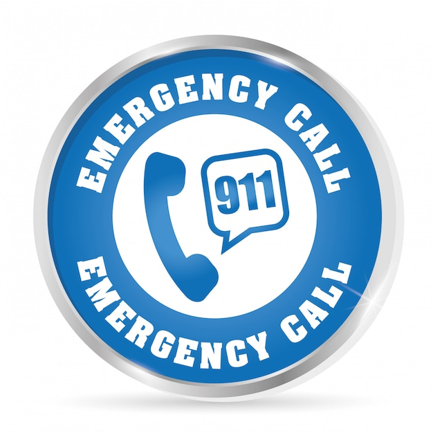 Emergency design illustration Premium Vector