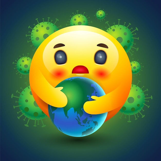 premium vector emotion icon caring earth emotion sign and symbol https www freepik com profile preagreement getstarted 8596797