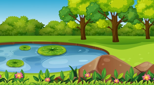 Empty background nature scene or backgroundry Free Vector