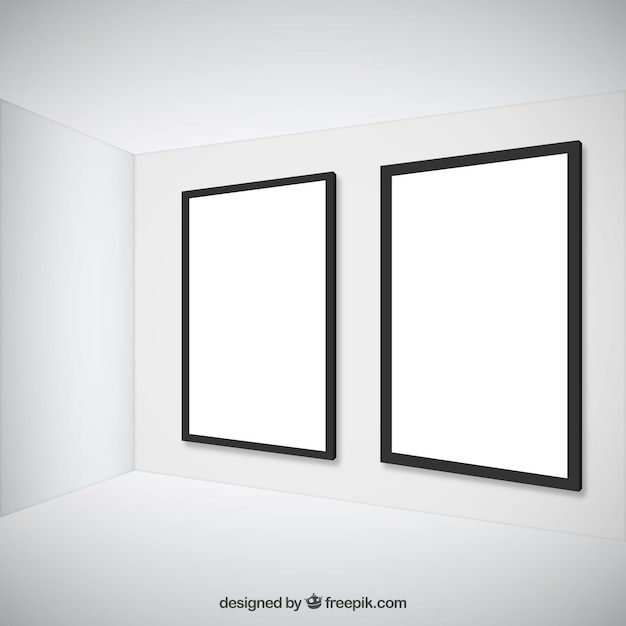 empty frames free vector
