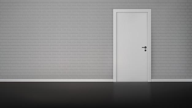 Empty room interior Free Vector