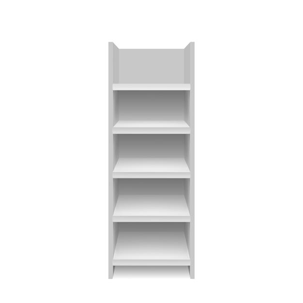 Пустая витрина иллюстрация Premium векторы