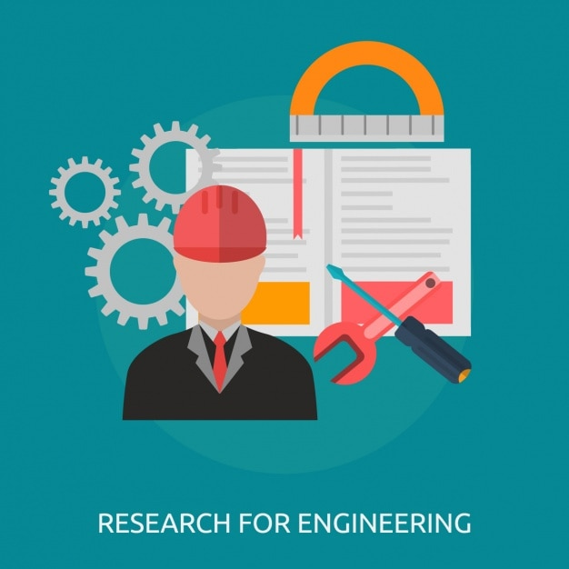 Engineering background design Vector | Free Download