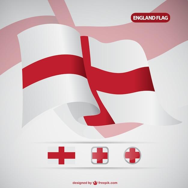 England flag Free Vector