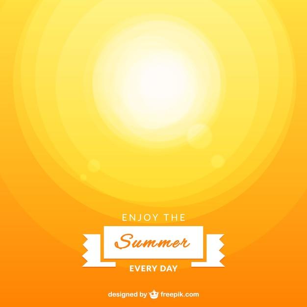Enjoy the summer vector Free Vector