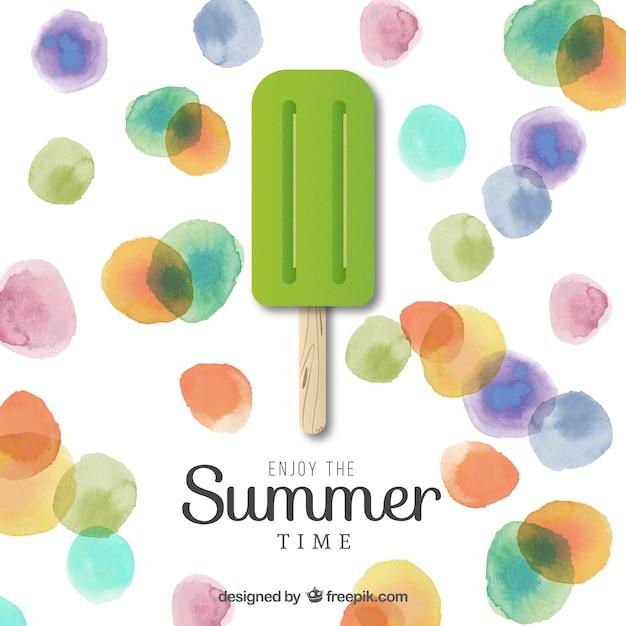 Enjoy The Summer Time Vector