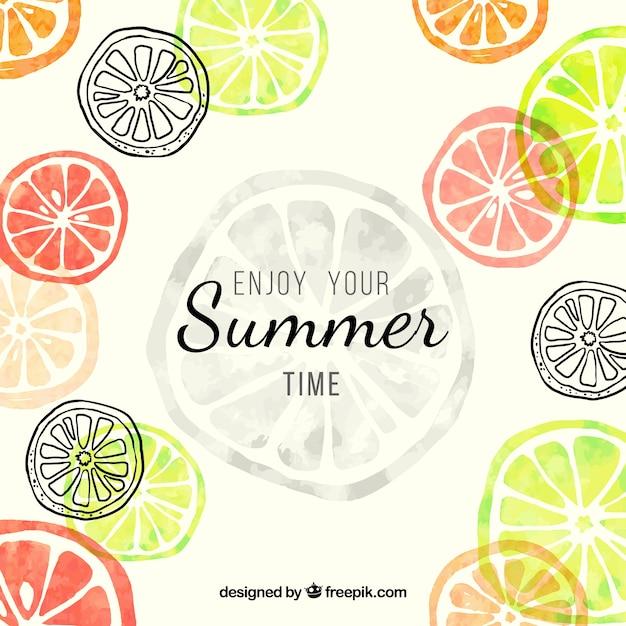 enjoy your summer time vector premium download