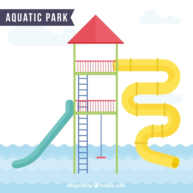 Enjoyable aquatic park