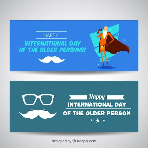 Enjoyable  international day of older banners