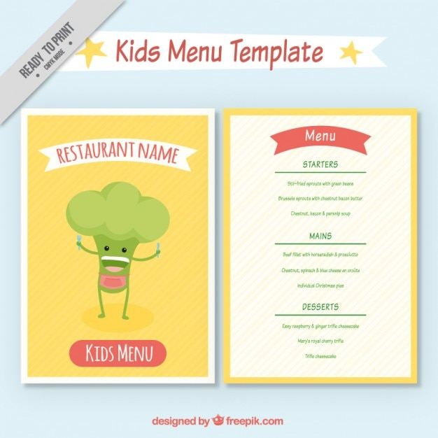 enjoyable kid menu with a nice broccoli stock images page everypixel