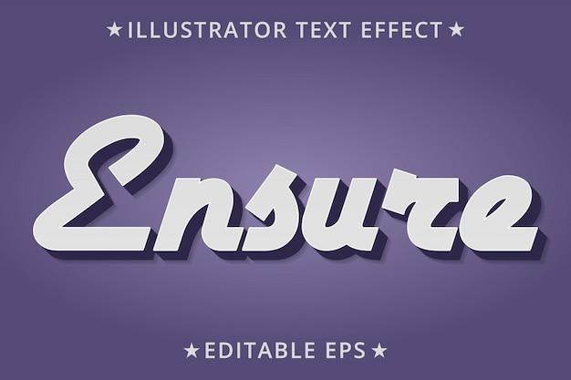 Обеспечить эффект стиля editabletext Premium векторы