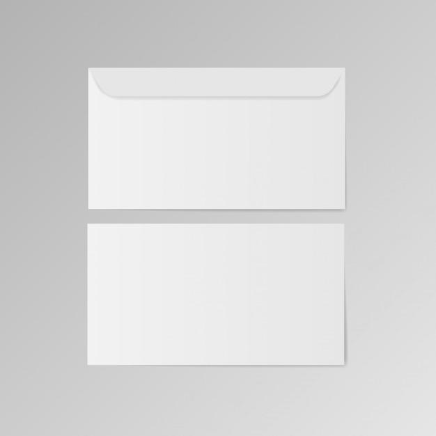 Envelope template Premium Vector