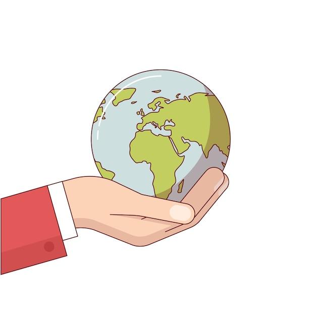 Экологическая ответственность бизнеса Бесплатные векторы