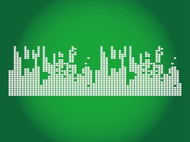 Equalizer banner music design Vector | Free Download