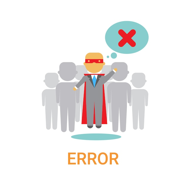 Error icon 404 not found broken message banner Premium Vector