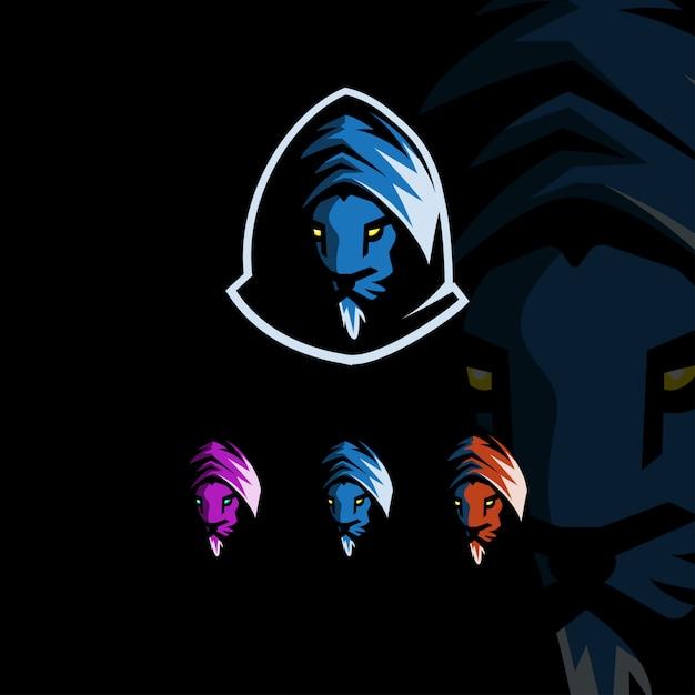 Шаблон дизайна логотипа esport Premium векторы
