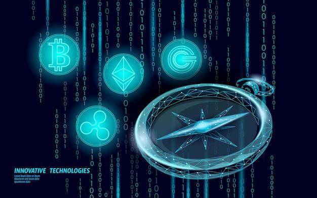 Ethereum bitcoin ripple coin цифровая криптовалюта компас онлайн-платеж. Premium векторы