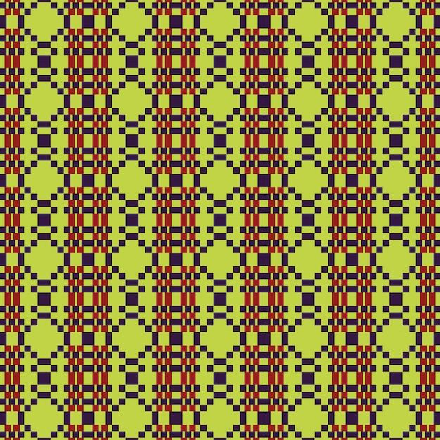 Ethnic graphic design decoration abstract pattern vector background Premium Vector
