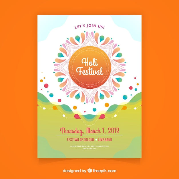 Ethnic holi festival poster template vector free download ethnic holi festival poster template free vector pronofoot35fo Gallery