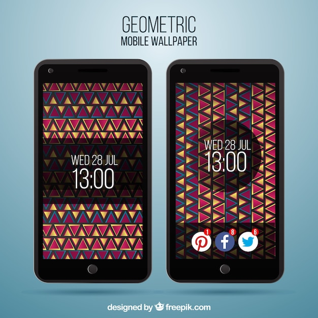 Ethnic mobile phone wallpapers pack