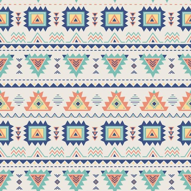 Ethnic seamless pattern. Premium Vector