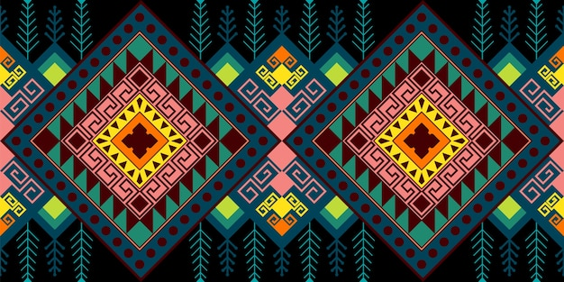 Ethnic seamless pattern Premium Vector