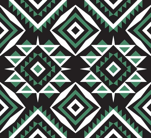 Ethnic or tribal aztec seamless pattern Premium Vector