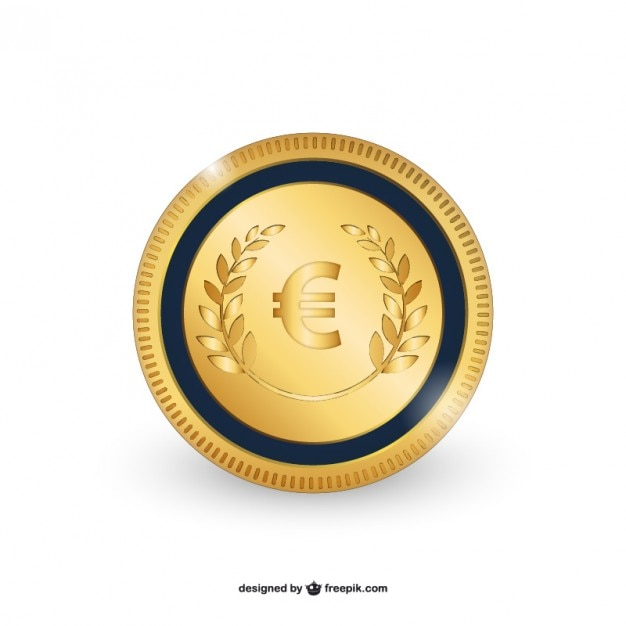 Euro coin vector Vector | Free Download