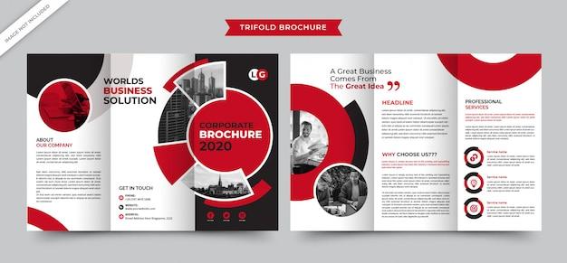 Exclusive business brochure Premium Vector