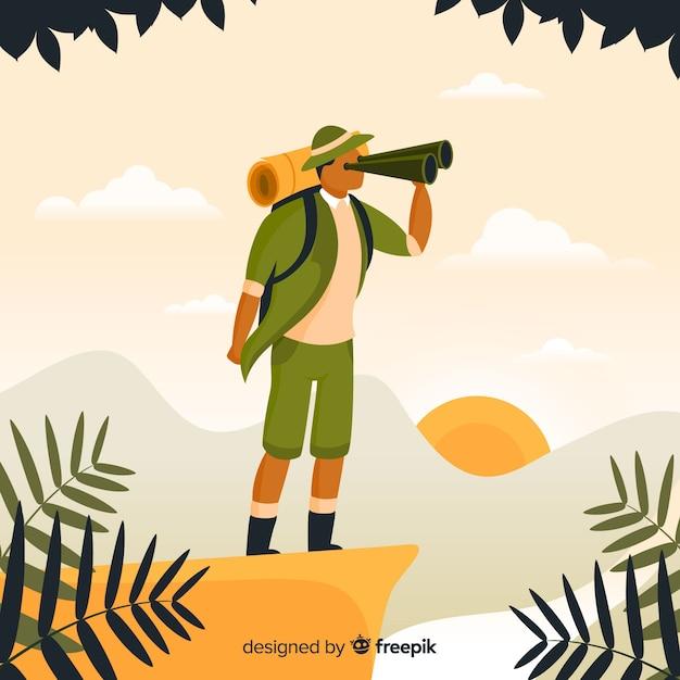 Explorer con zaino Vettore gratuito
