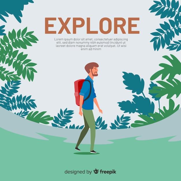 Explorer Free Vector
