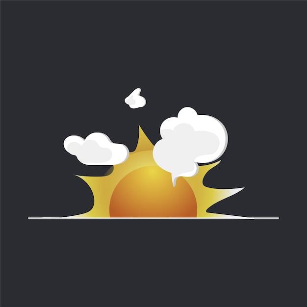 Explosion Free Vector