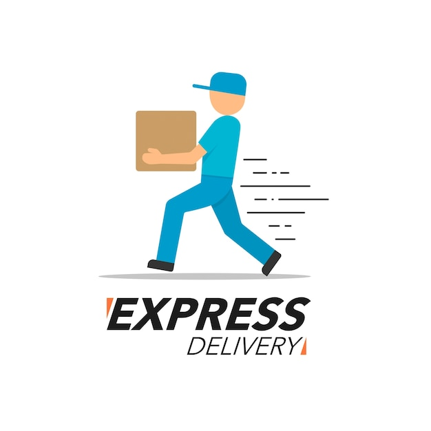 Express delivery icon concept Vector | Premium Download