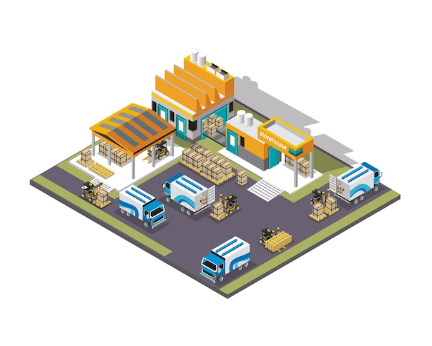 Beautiful Express Shipping Isometric D Premium Vector With Architecte 3d  Express.