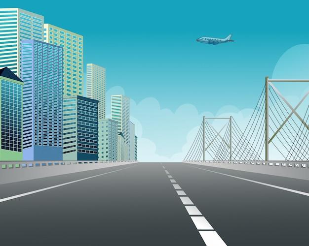 Expressway Premium Vector