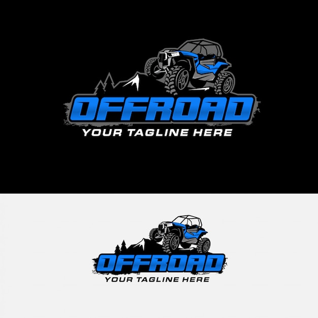 Extreme offroad racing logo Premium Vector