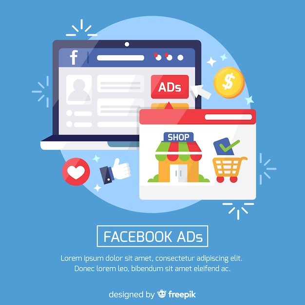 Facebook Ad Template Free from image.freepik.com