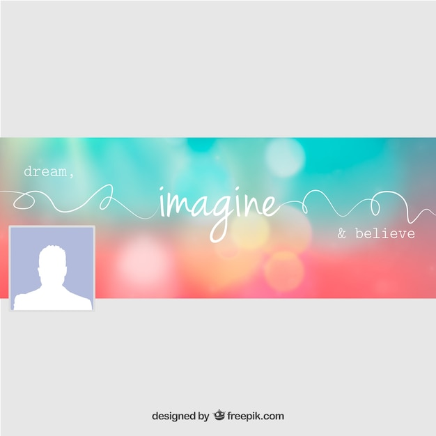 Facebook Cover Design Vector Free Download