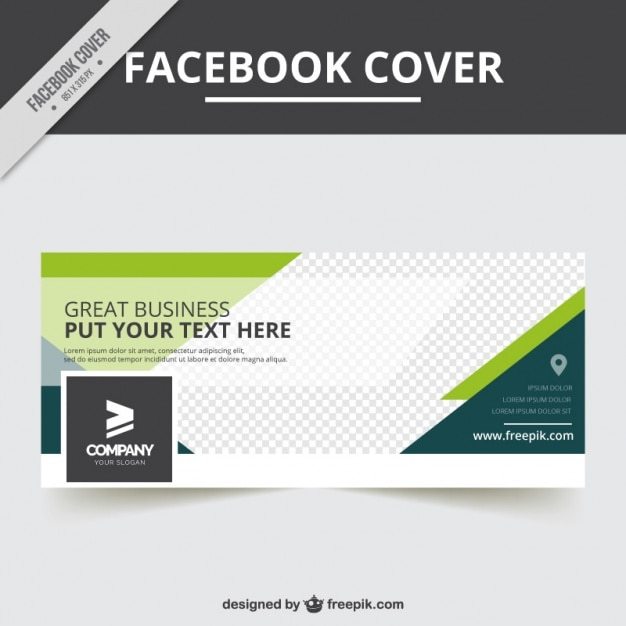 Facebook cover template in abstract style vector free download facebook cover template in abstract style free vector accmission Image collections