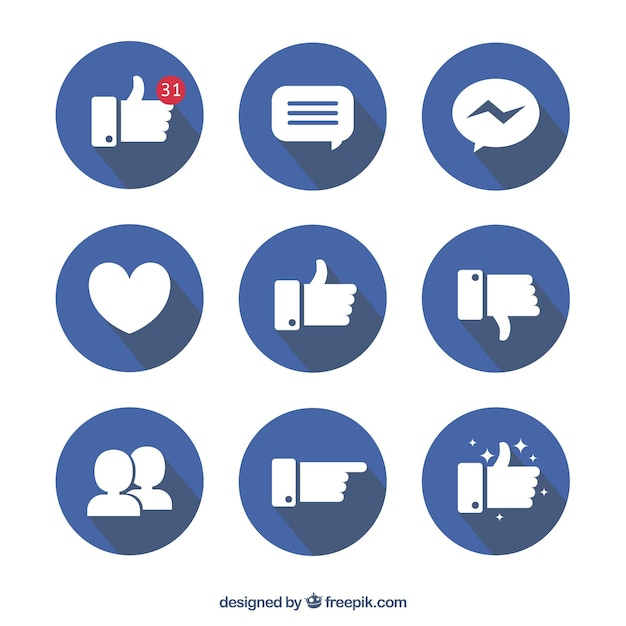 how to make facebook icon