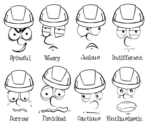 Words To Describe Facial Expressions