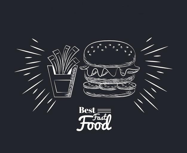 Fact food icons Premium Vector