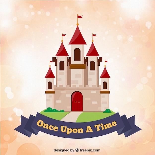 Fairy tale castle Free Vector