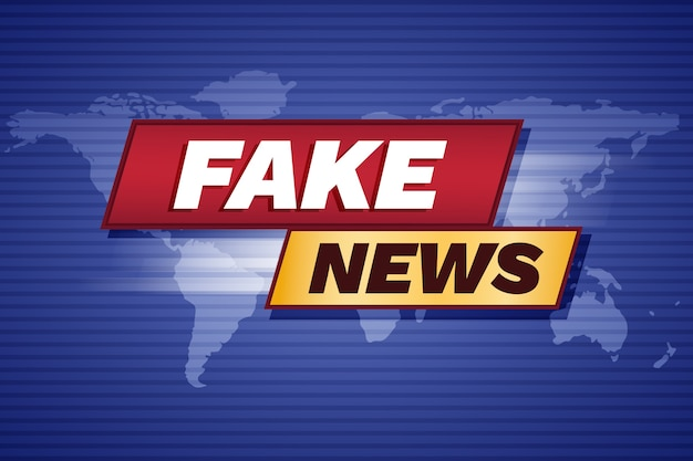 Streaming di notizie false Vettore gratuito