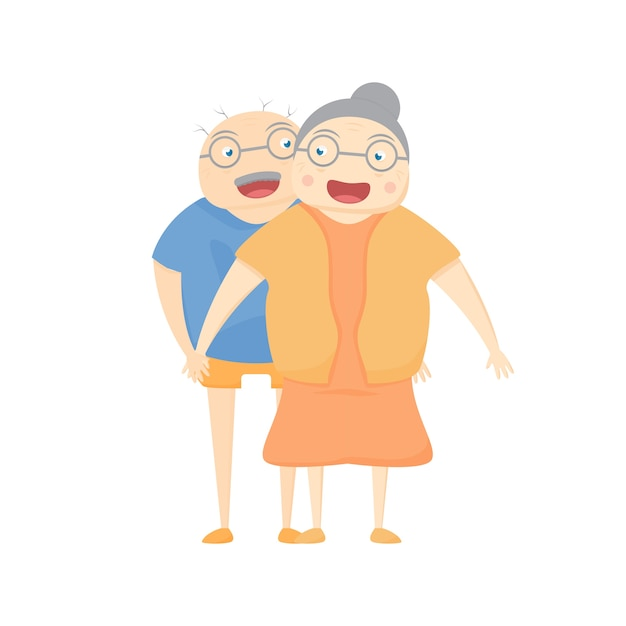 Family activity is smilling on white background. vector illustration in flat design. Premium Vector